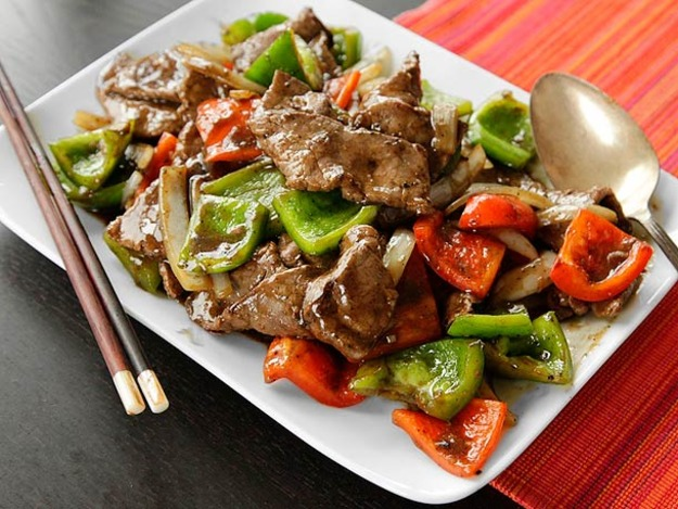 Stir Fried Pepper Steak